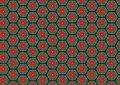 Free Red Poppies Circles Pattern Stock Image - 1886081