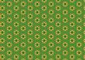Free Green Yellow Circles Pattern Royalty Free Stock Photography - 1886087