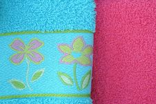 Free Colorful Bathroom Towels Stock Images - 1880104