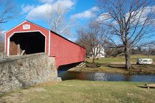 Covered Bridge Royalty Free Stock Image