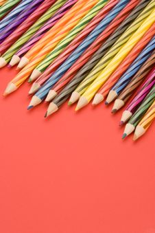 Free Coloured Pencils Stock Images - 1881524