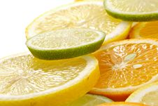Free Citron Allsorts-lime, Lemon, Tangerine Stock Photos - 1882343