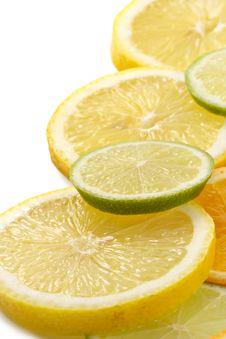 Free Citron Allsorts-lime, Lemon, Tangerine Royalty Free Stock Photography - 1882347