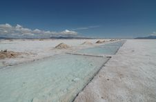 Free Salt Lake Near Salta, Argentina. Stock Photography - 1884052
