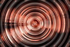 Free Abstract Hypnotic Red Shape Stock Photo - 1885050