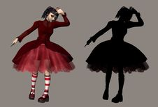 Gothic Lolita Royalty Free Stock Images