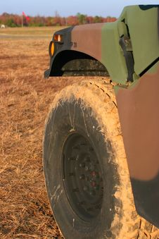 Free Military Wheel Stock Photo - 1885280