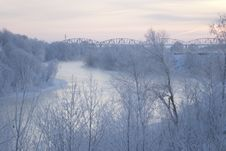 Free Winter Morning River Stock Photos - 1885353