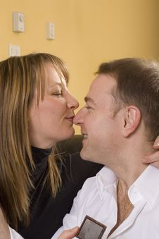 Free Couple Kissing Royalty Free Stock Photos - 1885758