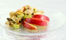Free Chicken Curry Salad Royalty Free Stock Photography - 1885777