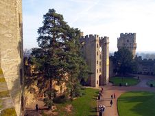 Free Warwick Castle In The UK Stock Image - 1885861