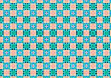 Free Pink Blue Chequered Pattern Stock Photo - 1886040