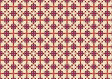 Bright Checkered Tiles Pattern Stock Photo