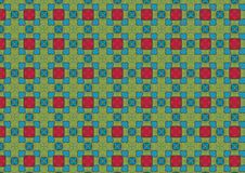 Free Retro Chequered Tiles Pattern Stock Photos - 1886073