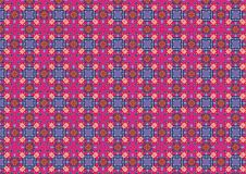 Free Ugly Vintage Blue Pink Squares Royalty Free Stock Image - 1886076
