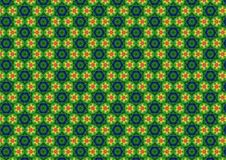 Ugly Green Retro Pattern Royalty Free Stock Image