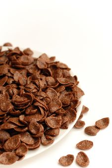 Free Chocolate Cornflakes Stock Image - 1887161