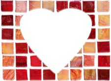 Free Ceramic Tile Heart Stock Photo - 1888030