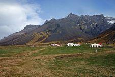 Free Icelandic Farm Royalty Free Stock Image - 1889996