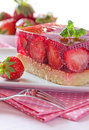 Free Strawberry Cake Royalty Free Stock Photos - 18801608