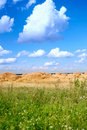Free Field With Straw Bales Stock Photo - 18801980