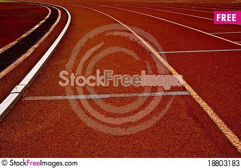 Free Curve Left Track Stock Photos - 18803183