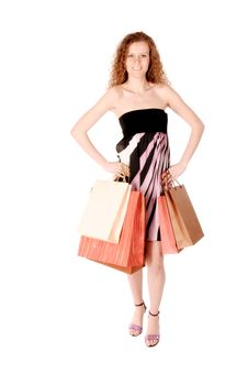 Free Shopping Woman Stock Photo - 18800070
