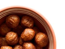 Free Soy Meatballs Royalty Free Stock Photos - 18801438