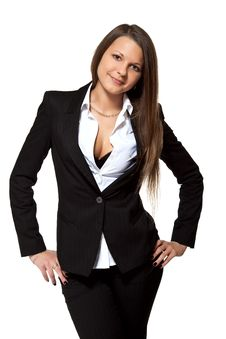 Business Girl Royalty Free Stock Image