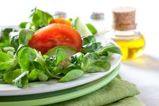 Free Fresh Salad With Tomato Royalty Free Stock Photo - 18802145