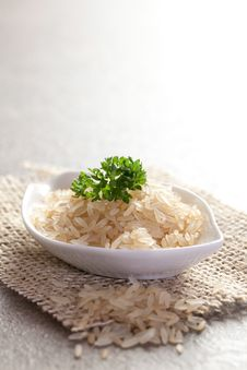 Free Rice In Bowl Royalty Free Stock Image - 18802256