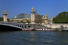 Free The Alexander III Bridge In Paris, France. Royalty Free Stock Photos - 18803098
