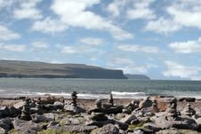 Free Doolin Beach With Rock Stacks Stock Images - 18803104