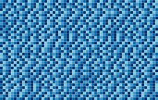 Free Blue Mosaic Wall Royalty Free Stock Images - 18803259