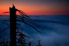 Free Of An Early Evening Inversion Stock Photos - 18803283