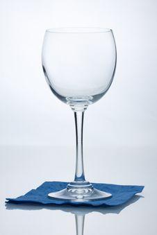Free Empty Wine Glass Stock Image - 18803311