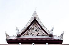 Free Architecture Thai Art Style Stock Photos - 18804333