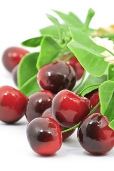 Free Sweet Red Cherry Stock Images - 18804754