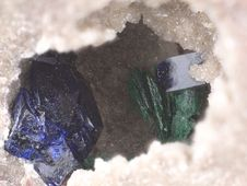 Free Azurite And Malachite Stock Images - 18805144