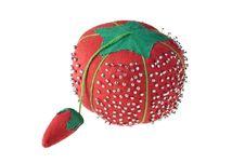 Free Red Pincushion Royalty Free Stock Images - 18806189