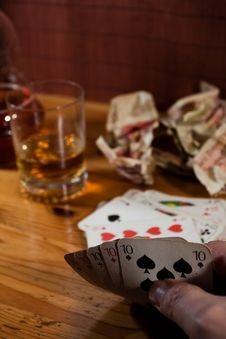 Free Old Play Cards Royalty Free Stock Images - 18806579