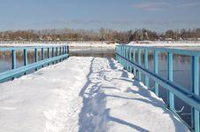 View On The Volga. Royalty Free Stock Photos