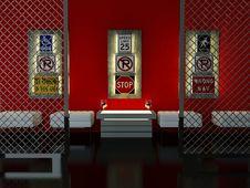 Free Interior Design Of Modern Bar Stock Photos - 18807133