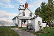 Free Old Mission Point Lighthouse Stock Photography - 18807832