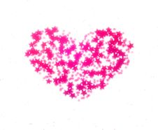 Free Pink Heart Stock Photo - 18808940