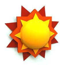 Free 3D Sun Stock Photo - 18809250