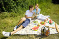 Free Couple At A Picnic Stock Images - 18816384