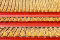 Free Roof Tiles Classic In Thailand Temple Stock Photos - 18819483
