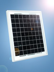 Free Solar Panel Royalty Free Stock Images - 18810959