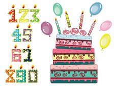 Free Birthday Set Stock Photo - 18811570